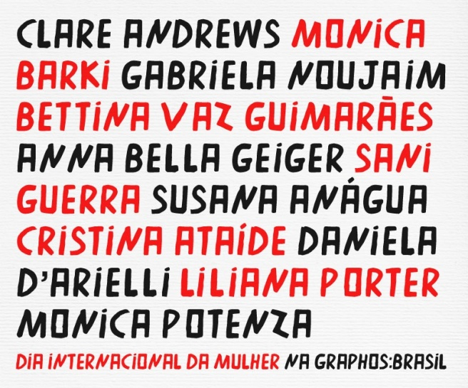 Convite Mulheres chegamos - Graphos-Brasil